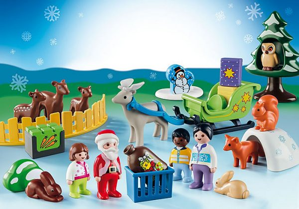 Playmobil Advent Calendar 9391 Christmas in the Forest 1.2.3 - image 9391_XmasintheForest_Advent1-600x420 on https://pop.toys