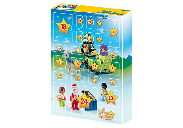 Playmobil Advent Calendar 9391 Christmas in the Forest 1.2.3 - image 9391_XmasintheForest_Advent2-600x420 on https://pop.toys