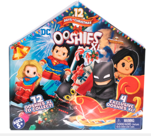 Ooshies XL DC Comics Advent Calendar 2019 - 12 days to Xmas - image Ooshies-XL-DC-Advent-Calendar-2019 on https://pop.toys