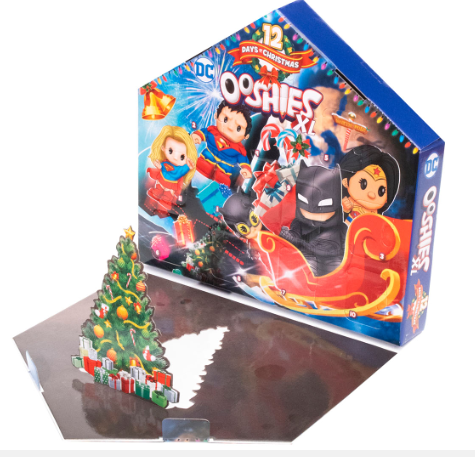 Ooshies XL DC Comics Advent Calendar 2019 - 12 days to Xmas - image Ooshies-XL-DC-Advent-Calendar-2019_open on https://pop.toys