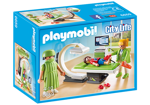 Playmobil City Life 6659 X-Ray Room - image 6659_X-Ray-Room-600x420 on https://pop.toys