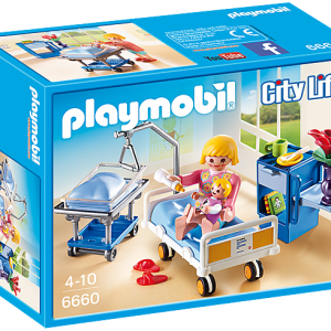 Playmobil City Life 6659 X-Ray Room - image 6660_Maternity-Room-300x300 on https://pop.toys