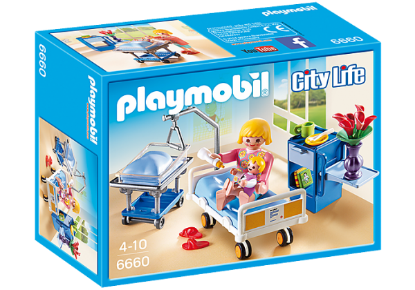 Playmobil City Life 6660 Maternity Room - image 6660_Maternity-Room-600x420 on https://pop.toys