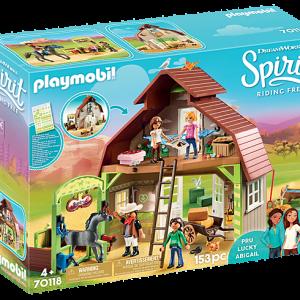 Playmobil Spirit Riding Free 70118 Barn with Lucky, Pru and Abigail - image 70118_Barn-with-Lucky-Pru-and-Abigail_box-300x300 on https://pop.toys