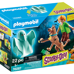 Playmobil Scooby Doo 70286 Mystery Machine - image 70287-SCOOBY-DOO-Scooby-and-Shaggy-with-Ghost_box-300x300 on https://pop.toys