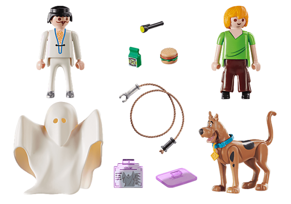 Playmobil Scooby Doo 70287 Scooby and Shaggy with Ghost - image 70287_SCOOBY-DOO-Scooby-and-Shaggy-with-Ghost_loose-600x420 on https://pop.toys