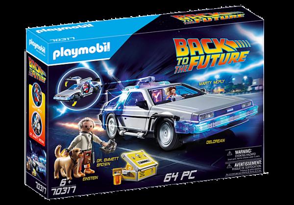 Playmobil Back to the Future 70317 DeLorean Car - image 70317_Back-to-the-Future-DeLorean-600x420 on https://pop.toys