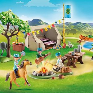 Playmobil Spirit Riding Free 70118 Barn with Lucky, Pru and Abigail - image 70329_Summer-Campground-300x300 on https://pop.toys