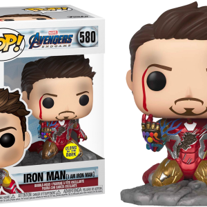 Avengers Endgame Pop Vinyl Iron Man (I am Iron Man) 3.75