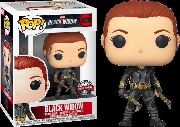 Black Widow Movie Pop Vinyl Black Widow (Grey Suit) 3.75