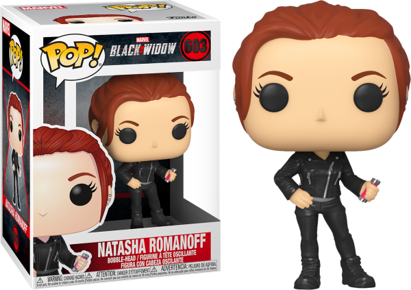 Black Widow Movie Pop Vinyl Natasha Romanoff 3.75