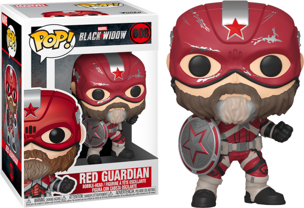 Black Widow Movie Pop Vinyl Red Guardian 3.75