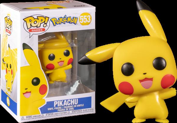 Pokemon Pop Vinyl Pikachu Waving 3.75