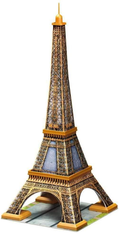 Ravensburger Eiffel Tower 3D Puzzle 216pc pieces - image ravensburger_eiffeltower1 on https://pop.toys