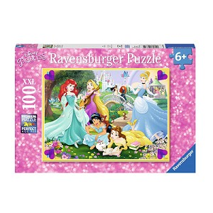 Ravensburger Disney Five Princess 100pc XXL Puzzle Jigsaw - image Ravensburger-Disney-Princess-100-XXL-Piece-Puzzle on https://pop.toys