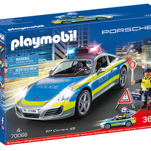 Playmobil 70066 Porsche 911 Carrera 4S Police Car with lights & sound - image 70066_Porsche-911-Carrera-4S-Police-300x300 on https://pop.toys