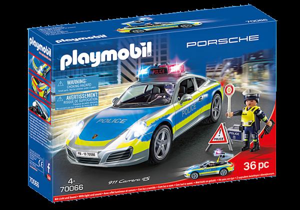 Playmobil 70066 Porsche 911 Carrera 4S Police Car with lights & sound - image 70066_Porsche-911-Carrera-4S-Police-600x420 on https://pop.toys