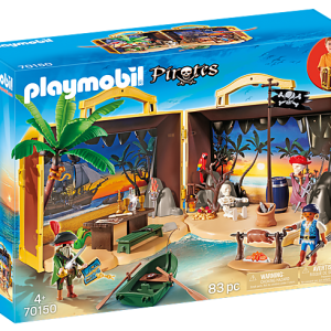 Playmobil Pirates 6682 Pirate Raft - image 70150_Take-Along-Pirate-Island-300x300 on https://pop.toys