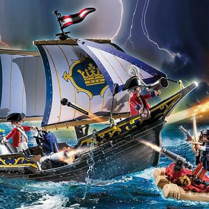 Playmobil Pirates 6682 Pirate Raft - image 70412_Redcoat-Caravel-300x300 on https://pop.toys