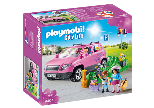 Playmobil City Life 9404 Family Car with Parking - image 9404_Family-Car-with-Parking-Space-600x420 on https://pop.toys