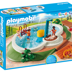 Playmobil Christmas 9494 Illuminating Nativity Manger - lights up! - image 9422_Swimming-Pool-300x300 on https://pop.toys