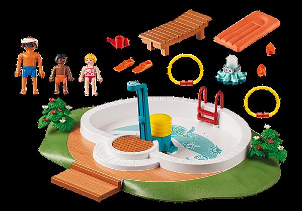 Playmobil Family Fun 9422 Swimming Pool - image 9422_Swimming-Pool_1-600x420 on https://pop.toys