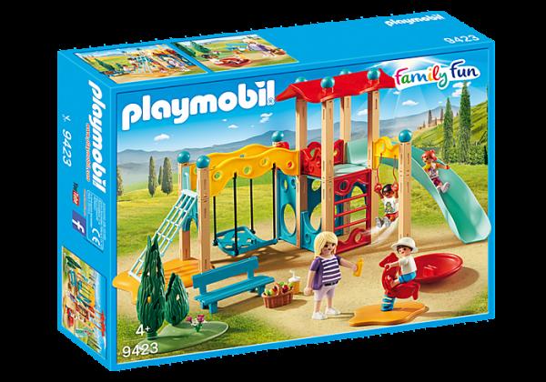 Playmobil Family Fun 9423 Park Playground - image 9423_Park-Playground-600x420 on https://pop.toys