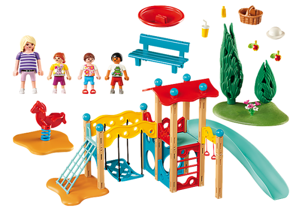Playmobil Family Fun 9423 Park Playground - image 9423_Park-Playground_1-600x420 on https://pop.toys