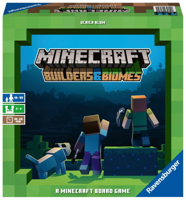 Minecraft - Builders and Biomes Board Game - Ravensburger Games - image minecraft-builders-and-biomes-board-game-600x645 on https://pop.toys