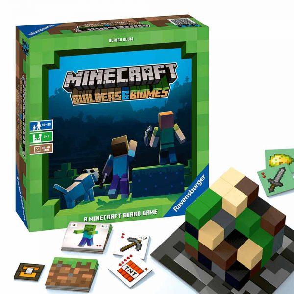 Minecraft - Builders and Biomes Board Game - Ravensburger Games - image minecraft-builders-and-biomes-board-game1-600x600 on https://pop.toys