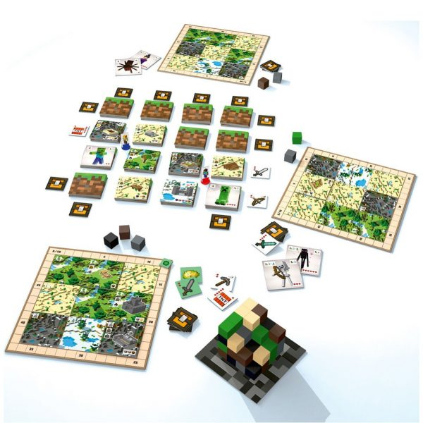 Minecraft - Builders and Biomes Board Game - Ravensburger Games - image on https://pop.toys