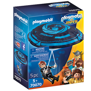 Playmobil the Movie 70070 Rex Dasher with Parachute - image 70070_PLAYMOBIL_THE-MOVIE-Rex-Dasher-with-Parachute-300x300 on https://pop.toys