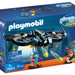 Playmobil the Movie 70070 Rex Dasher with Parachute - image 70071_PLAYMOBIL_THE-MOVIE-Robotitron-with-Drone-300x300 on https://pop.toys