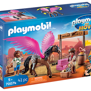 Playmobil the Movie 70070 Rex Dasher with Parachute - image 70074_PLAYMOBIL_THE-MOVIE-Marla-Del-and-Pegasus-300x300 on https://pop.toys