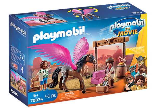 Playmobil the Movie 70074 Marla and Del with Pegasus - image 70074_PLAYMOBIL_THE-MOVIE-Marla-Del-and-Pegasus-600x420 on https://pop.toys