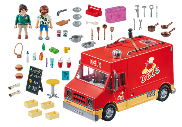 Playmobil the Movie 70075 Del's Food Truck - image 70075_PLAYMOBIL_-THE-MOVIE-Dels-Food-Truck1-600x420 on https://pop.toys