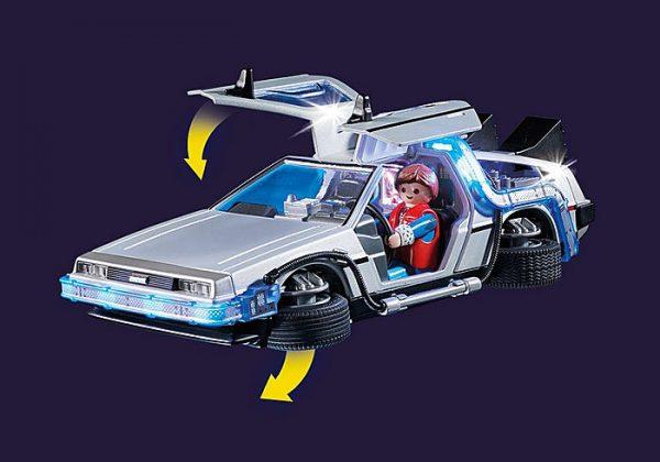 Playmobil Back to the Future 70317 DeLorean Car - image 70317_Back-to-the-Future-DeLorean2-600x420 on https://pop.toys