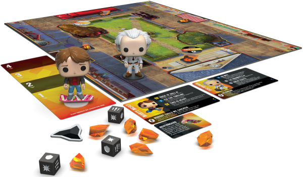Back to the Future Marty McFly, Doc Brown Pop Funkoverse Strategy Game - image bttf-funkoverse1-600x352 on https://pop.toys