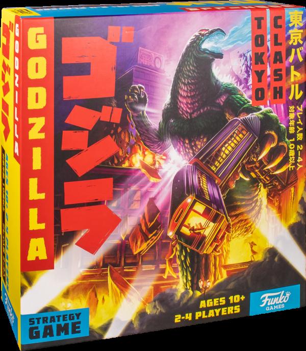 Godzilla Tokyo Clash Strategy Board Game - Funko Games 10+, 2 - 4 players - image godzilla-tokyo-clash-strategy-game-600x687 on https://pop.toys