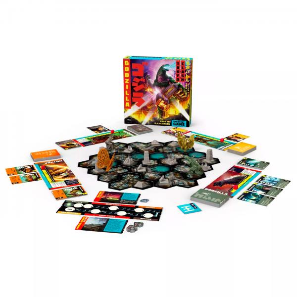 Godzilla Tokyo Clash Strategy Board Game - Funko Games 10+, 2 - 4 players - image godzilla-tokyo-clash-strategy-game3-600x600 on https://pop.toys