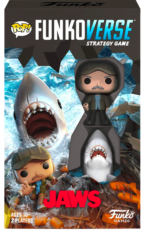 Jaws - Quint & Great White Shark Pop Funkoverse Strategy Game 2-Pack - image jaws-funkoverse-expandalone-game-funko-600x958 on https://pop.toys