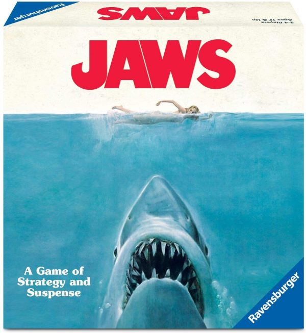 Jaws Board Game - A game of strategy and suspense Ravensburger Games 12+ - image jaws_0-600x653 on https://pop.toys