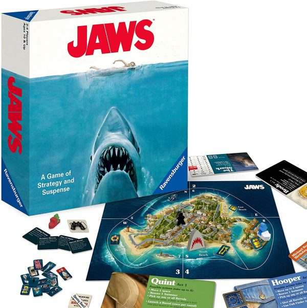 Jaws Board Game - A game of strategy and suspense Ravensburger Games 12+ - image jaws_1-600x602 on https://pop.toys