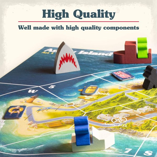 Jaws Board Game - A game of strategy and suspense Ravensburger Games 12+ - image jaws_3-600x600 on https://pop.toys