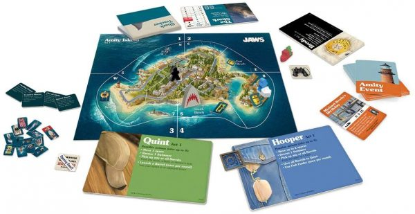 Jaws Board Game - A game of strategy and suspense Ravensburger Games 12+ - image jaws_5-600x309 on https://pop.toys