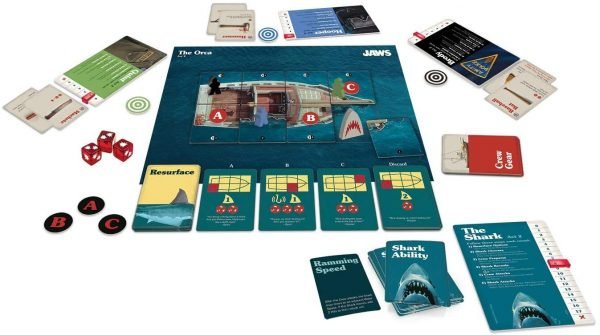 Jaws Board Game - A game of strategy and suspense Ravensburger Games 12+ - image jaws_6-600x335 on https://pop.toys