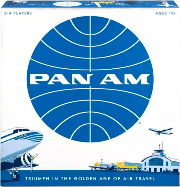 Pan Am Strategy Board Game - Funko Games 12+, 2 - 4 players - image pan-am-funko-board-game-600x624 on https://pop.toys