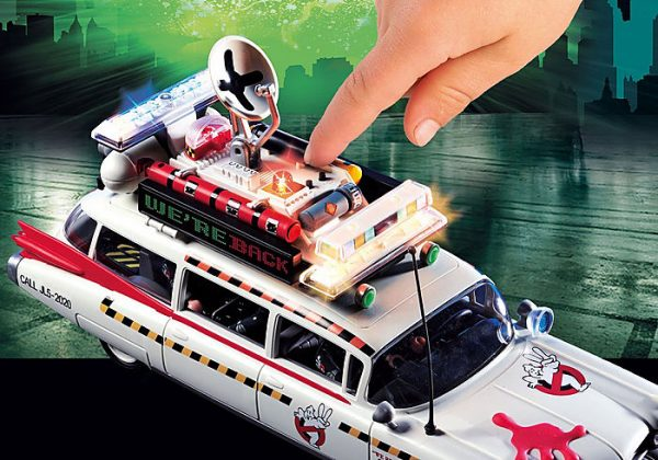 Playmobil Ghostbusters 70170 Ecto-1A Vehicle with 4 figs - image 70170_Ghostbusters-Ecto-1A_2-600x420 on https://pop.toys