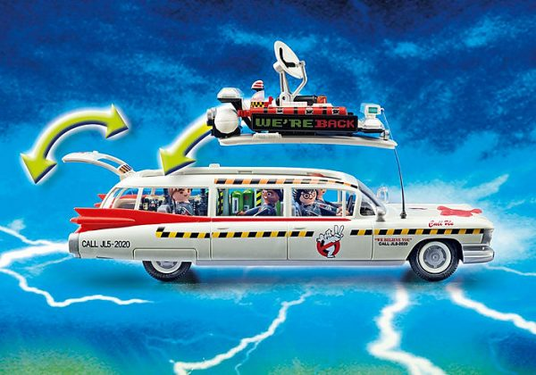 Playmobil Ghostbusters 70170 Ecto-1A Vehicle with 4 figs - image 70170_Ghostbusters-Ecto-1A_4-600x420 on https://pop.toys