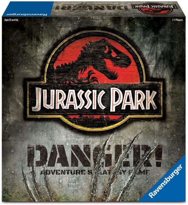 Jurassic Park: Danger Board Game - adventure strategy Ravensburger Games 10+ - image JurassicParkGame_0-600x653 on https://pop.toys
